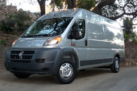 2014 Ram 3500 ProMaster – First Drive This big new Fiat-built cargo van drives straight into former Dodge/Mercedes-Benz Sprinter territory.