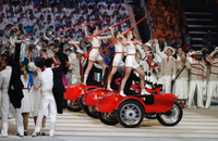 Ural Sidecars Used in Opening Ceremony for Sochi Olympics