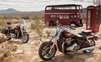 2014 Triumph Thunderbird Commander and Thunderbird LT