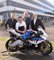 Michael Dunlop and BMW Talk About Racing in 2014