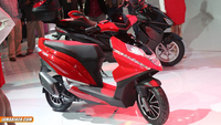Hero Dare – 125cc scooter presented at Auto Expo 2014