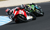 Solid Races For Team Hero EBR At Phillip Island