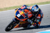 KTM Serious In Moto3 Australian rider dominates most recent preseason test.