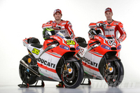 PHOTOS: New Ducati MotoGP Racer (Press Conference Video) Desmosedici GP14 from every angle, plus quotes from Ducati's top brass and factory riders.
