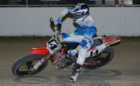 Bauman and Wells Each Clutch AMA Pro Flat Track Round One Victories in Daytona