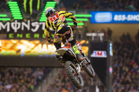 GEICO Honda's Justin Bogle Takes Second in Detroit 250x Supercross Race
