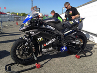 Mark Miller Teams up with Italian Team Vercarmoto for 2014 SES TT Zero Race