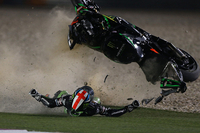 MotoGP Qatar: Picture special - Smith's monster highside