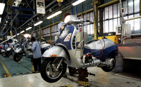 Piaggio Reveals Business Plan for 2014-2017