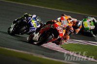 MotoGP: Grand Prix Of Qatar Wrap-Up Marc Marquez wins epic battle with Valentino Rossi.
