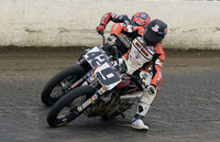 Harley-Davidson's Jared Mees Steals Late Lead to Capture Grays Harbor Half-Mile Victory