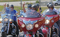 "Indian Motorcycle Makes ""Veterans Charity Ride to Sturgis"" Possible for Disabled U"