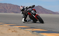 Hollywood Electrics fielding three-man team riding Zero SRs at Pikes Peak