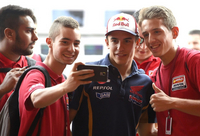 Marc Marquez Will Use 2014 Frame at Assen