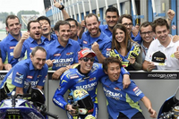 Espargaro & Team Suzuki Ecstar 2nd at Assen