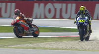 Assen MotoGP Race Steward's Report: Rossi Vs Marquez After Late Touch