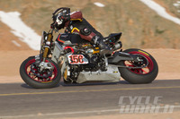 VICTORY PROJECT 156: The Mountain Wins At Pikes Peak, sometimes the track is your toughest competition. With great photos!