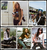 Five Women, Their Harleys and a Camera Harley-Davidson and photographer Lana MacNaughton announce upcoming Highway Runaways Ride paying homage to
