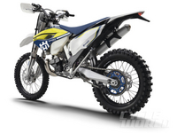 2016 Husqvarnas – FIRST LOOK The dual-sport and off-road models get minor refinements and new graphics for 2016.