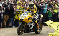 Rossi Celebrates Yamaha's 60th Anniversary at Goodwood Festival of Speed