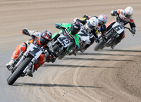 AMA Pro Flat Track Riders Make Their Return to the Historic Du Quoin Mile on July 4th