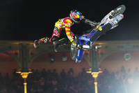 Moore and Pagès Hunting Red Bull X-Fighters World Tour Hat-Trick in Madrid