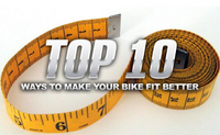 Top 10 Ways To Make Your Bike Fit Better