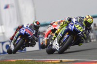 Movistar Yamaha MotoGP Secures Ninth Consecutive Podium in Sachsenring Showdown