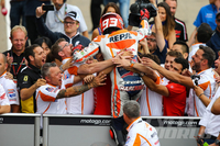 ON THE RECORD: Marc Marquez The young Spanish MotoGP star shares some thoughts after winning the German Grand Prix.