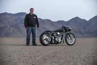 "Indian Reveals ""Black Bullet Scout"" Custom Motorcycle (Video)"
