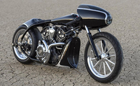 "Indian Motorcycles Announces Custom ""Black Bullet Scout"""