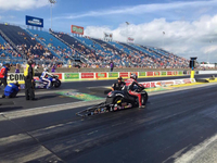 Victory Racing's Matt Smith Reaches Finals in NHRA Racing at Chicago, Takes Second on Pro Stock Victory Gunner