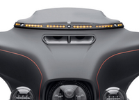 Harley-Davidson Introduces Illuminated Windshield Trim Accessory for Touring Models