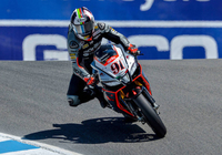 Aprilia wSBK's Haslam & Torres Satisfied with Continued Progress at Monterey Circuit