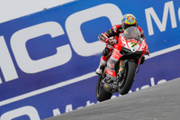 It Ducati's Chaz Davies on the Double at Laguna Seca wSBK