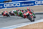 WORLD SUPERBIKE: Mazda Raceway Laguna Seca Ducati's Chaz Davies sweeps both races in California.