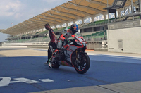 Max Biaggi Prepares for His Second Wild Card of the Season with Aprilia wSBK at Sepang