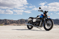 The Bonneville T214 Special Edition Celebrates Triumph's Land Speed Racing Heritage