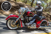 BEST CRUISER: Indian Chief Classic Chrome, curves and torque...what more do you need?