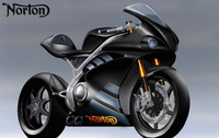 First Sketches of Norton's 200hp 1,200cc V4 Superbike
