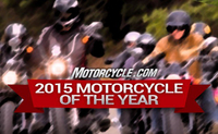2015 Motorcycle of the Year