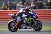 Movistar Yamaha MotoGP Scores First and Second Row in Silverstone Qualifying
