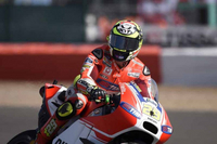 Dovizioso fifth and Iannone eighth after first free practice for British GP at Silverstone