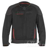 CW REVIEW: Can-Am Russell Mesh Jacket Hot-weather jacket is tailored for three-wheeler riders only.