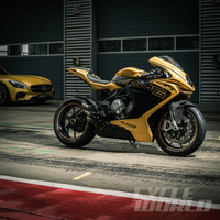 MV Agusta F3 AMG Concept – FIRST LOOK REVIEW From the Frankfurt Motor Show: An F3 800 touched by the AMG wand.