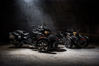 Can-Am Announces it's 2016 Spyder Lineup With New F3-T and F3 Limited Models
