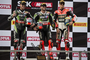 Kawasaki's Jonathan Rea and Tom Sykes Trade Superbike Wins in Thailand American Nicky Hayden suffered a DNF in race one, returned to finish fifth in