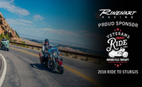 Rinehart Racing Joins the 2018 Veterans Charity Ride to Sturgis