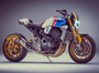 Custom CB1000R Created for Mick Doohan in Drag Race Event
