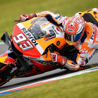 Marquez, Viñales, Dovi the top three in Warm Up